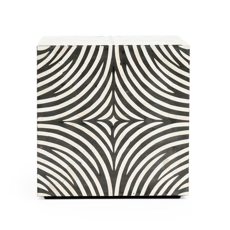 Decor Black & White CUBO