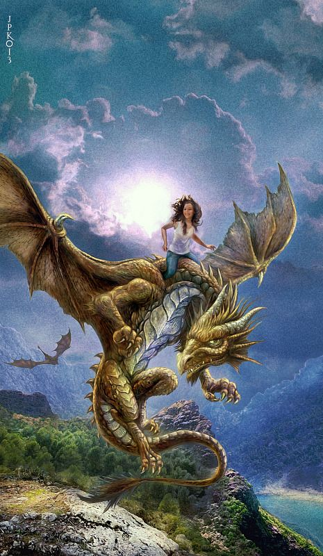 Dragon of the Lake by Jan Patrik Krasny