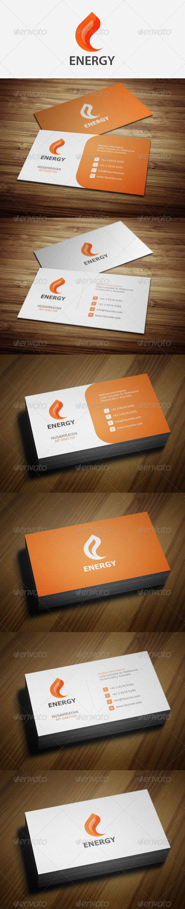 16 best simple business card mood board images on pinterest simple energy business cards reheart Image collections