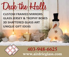 Get a quote on custom framed mirrors, jersey boxes, trophy boxes and more from Airdrie Windshield & Glass