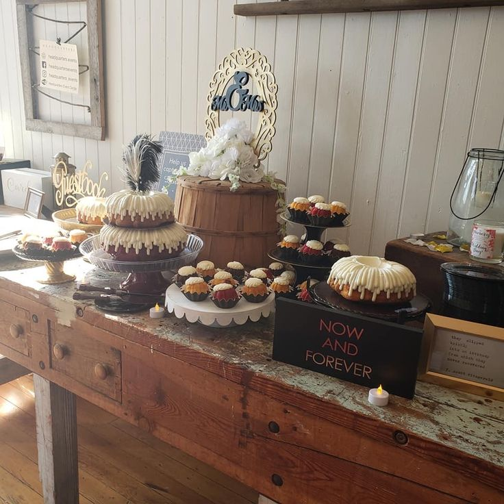 Cake table wedding cake table cake table bunt cakes