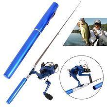 Outdoor Mini Camping Travel Baitcasting Telescopic Pocket Pen Shape Fishing Rod + Reel+ Fishing line $US $8.50 & FREE Shipping // http://fishinglobby.com/outdoor-mini-camping-travel-baitcasting-telescopic-pocket-pen-shape-fishing-rod-reel-fishing-line/ #fishingreels