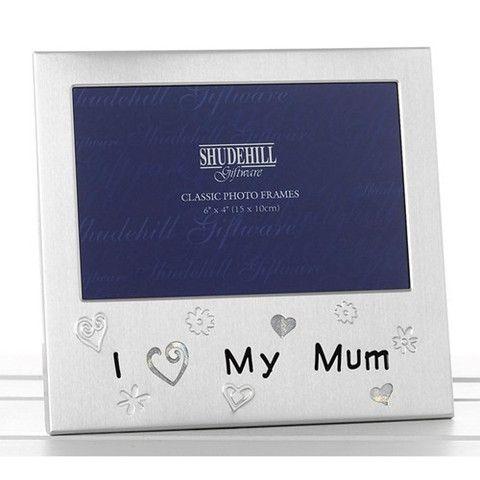 """""""I love my mum"""" Photo Frame"""