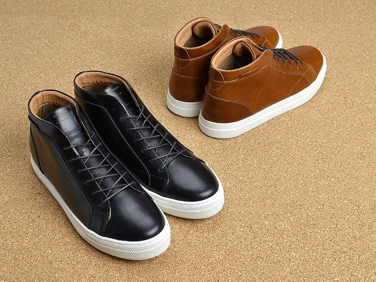 basket montante schmoove spark mid #schmoove #leathershoes #sneaker #liege #cork