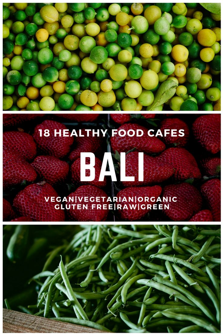 18 Bali Healthy Food Cafes that will excite the tastebuds