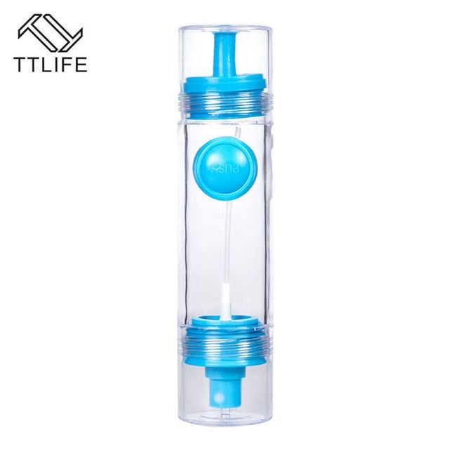 TTLIFE Cooking Olive Oil Sprayer Dispenser Cruet Oil Bottle 2 in 1 Sprayer Can Oil Jar Pot Tool Can Kitchen Pastry Tools