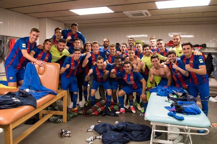 👏 Barça B are league champions 2016/17! 👏 ¡El Barça B conquista el título de Liga! 👏 El Barça B, campions de Lliga! #fashion #style #stylish #love #me #cute #photooftheday #nails #hair #beauty #beautiful #design #model #dress #shoes #heels #styles #outfit #purse #jewelry #shopping #glam #cheerfriends #bestfriends #cheer #friends #indianapolis #cheerleader #allstarcheer #cheercomp  #sale #shop #onlineshopping #dance #cheers #cheerislife #beautyproducts #hairgoals #pink #hotpink #sparkle…
