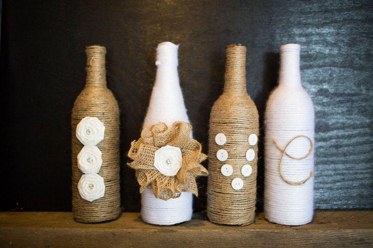DIY Wedding Vases