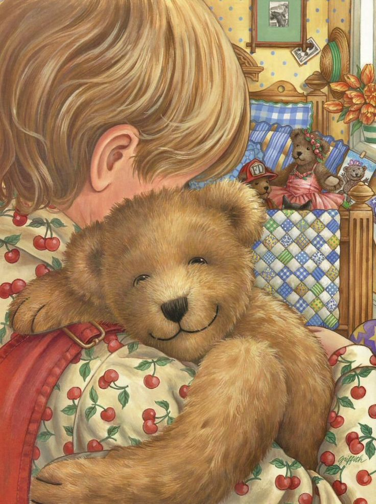 Teddy Bear, Teddy Bear ~ Linda Hill Griffith