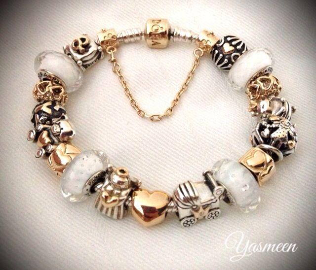 Angelic white. Pandora Bracelet Gold Or White Vos Pandora Vos créations Your…