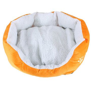 Small Size Fleece Soft Warm Dog Cat Mats Bed Pad - US$9.22