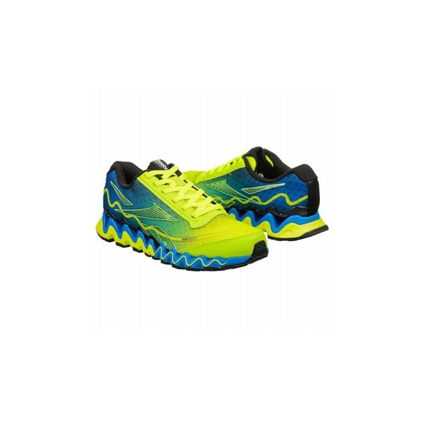 Reebok Kids' ZIGULTRA GS Shoes (Neon Yelw/Blue/Black)