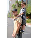 I just saw this on costco website and died laughing. if I ever saw anyone using this in public...oh my!!  Piggyback Rider® Standing Child Carrier