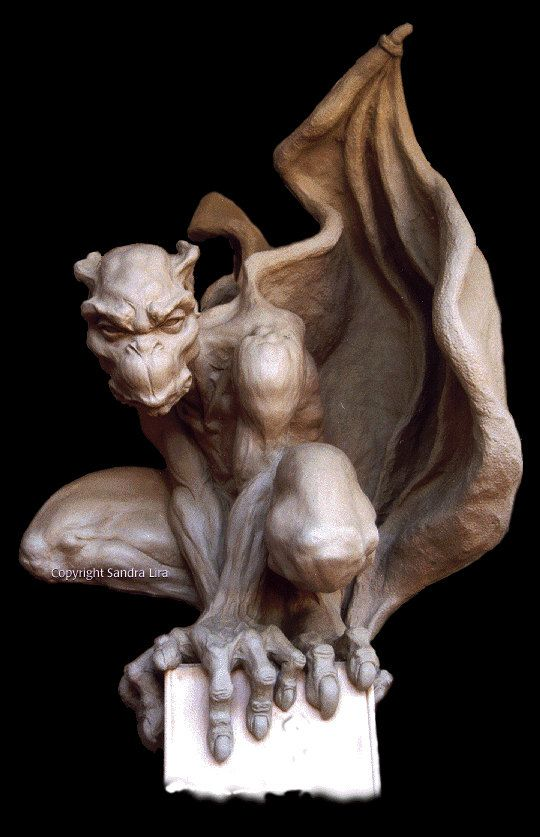 Hey, I found this really awesome Etsy listing at https://www.etsy.com/listing/199934051/sentinel-gothic-gargoyle-statue-large