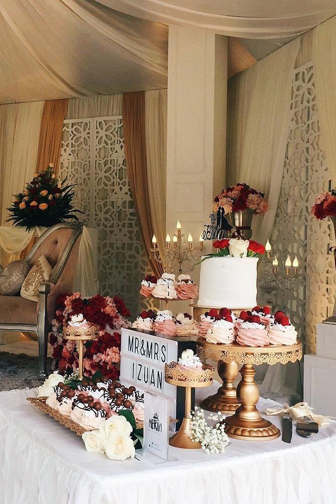 42 Wedding Dessert Table Ideas For Every Theme Wedding Dessert Table Elegant Wedding Dessert Table Wedding Cake Table