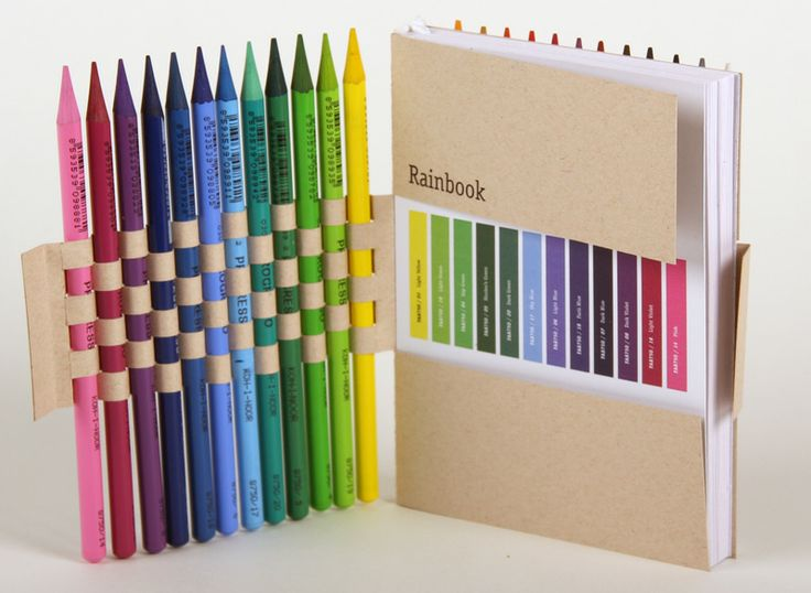 clever colorful and unusual #pencil #packaging PD