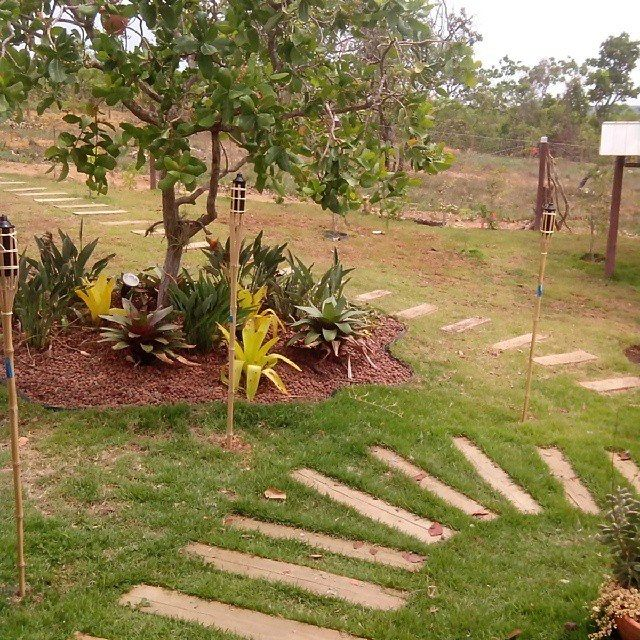 Casa de campo. jardins…