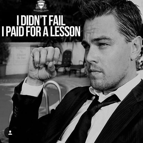 A pretty BIG lesson too!!! Although, what goes around, comes around!! I'll be sitting back watching karma come pay a visit to you at a later date.