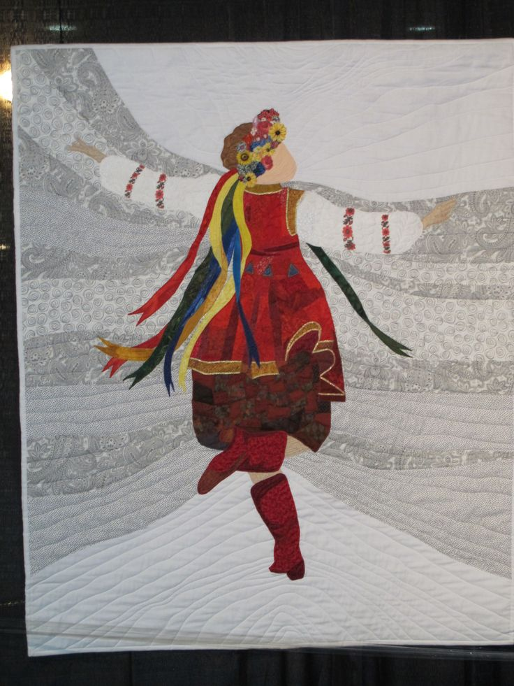 So much joy in this quilt from Long Beach International Quilt Festival 2013