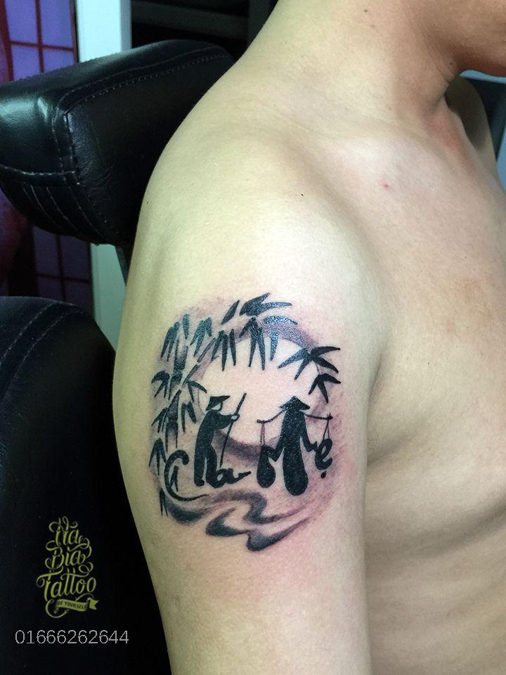 Hình xăm cha mẹ,tribal tattoo, hình xăm nam, hình xăm bắp ...