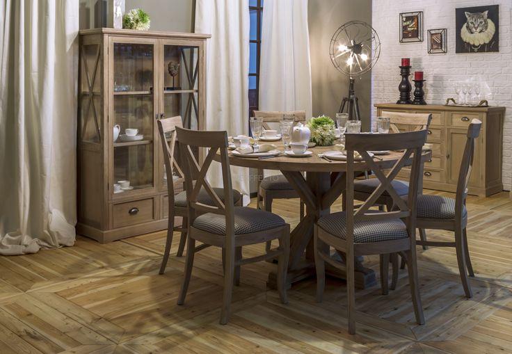 Stół okrągły Nin Bit Jafra - Perffecto - dla wnętrza, lampy tapety meble kuchnie dekoracje lustra