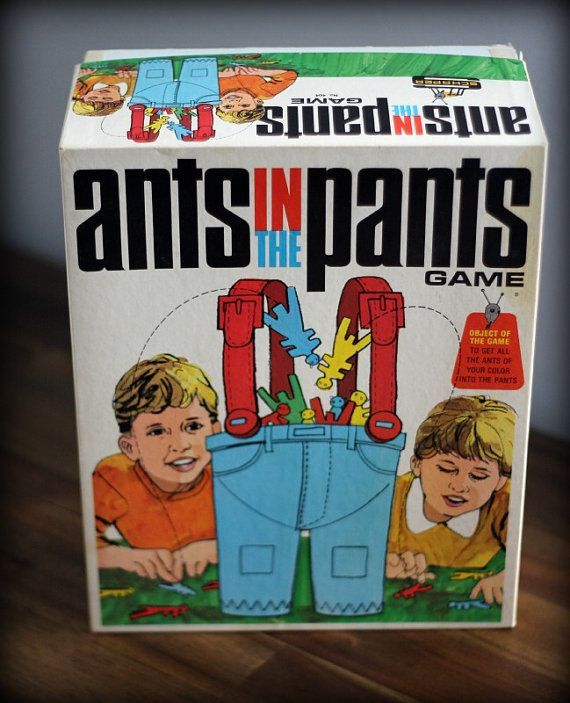 1960S Board Games | 1960s Ants in the Pants Board Game by AllThisTimeAccents on Etsy, $8... IN SEARCH OF THIS VINTAGE GAME, BUT GARAGE SALES ARE HERE SO MaYbE I WILL FIND ONE, SMILES... YOU HAVE 1 YA MAY WANNA SALE FOR A GOOD PRICE? JUST LET ME KNOW PLEASE?