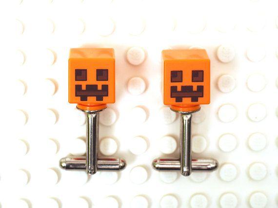 Minecraft Pumpkin Jack O' Lantern head theme by Cufflinkhero