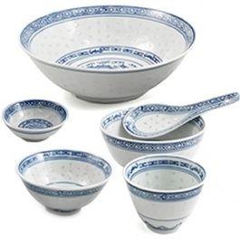 Beautiful Chinese Rice Pattern China.