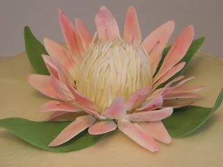 Pretty Delicious Cakes: South African Protea Cake
