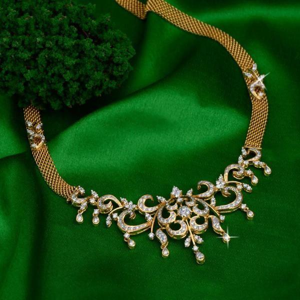jewellery | diamond | necklaceset