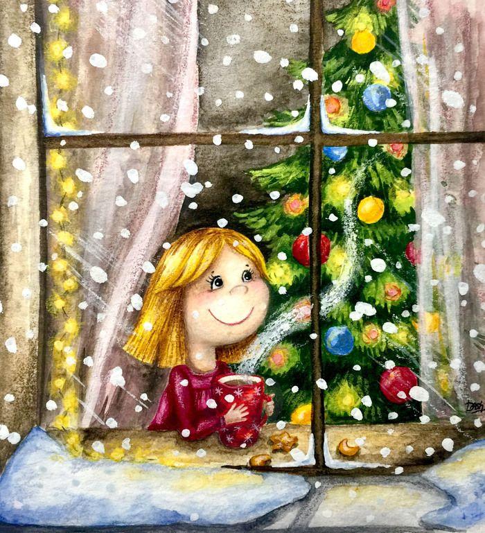 за окном моим снежинки будут рисовать картинки бесплатные картинки