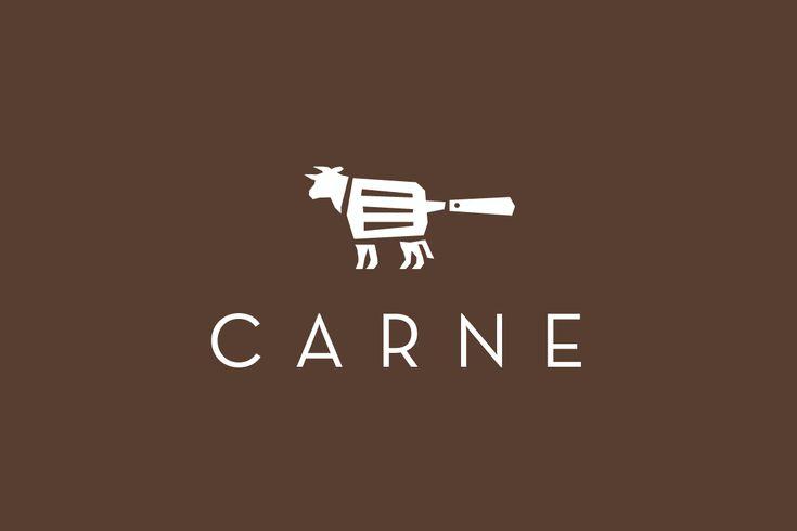 Carne—Steak House Logo Design More