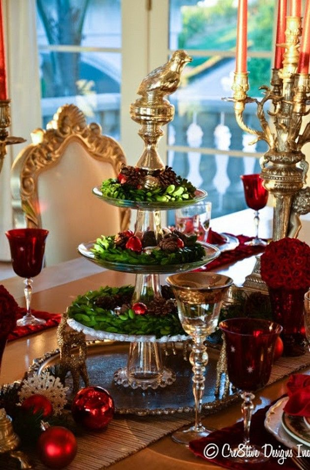 Christmas Tablescape Ideas 40 Pics Holidays Parties