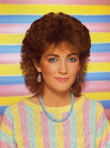1980's hair