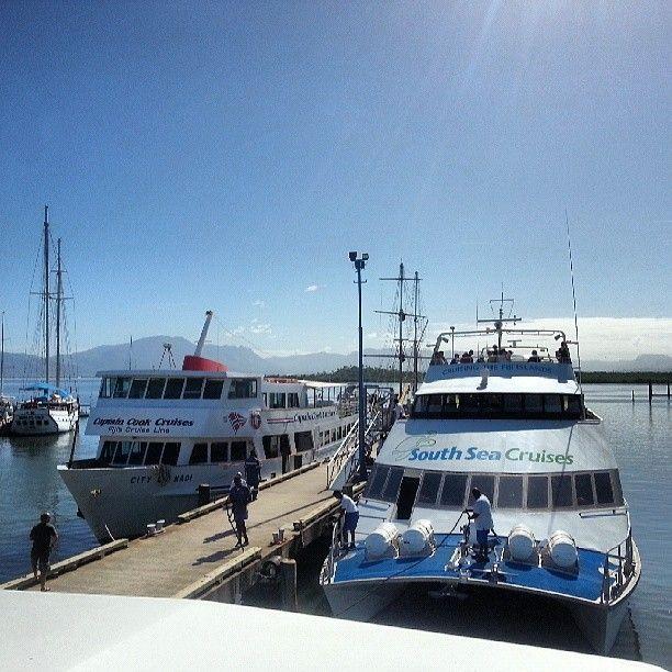 Beautiful morning starts with a cruise! Утро начинается с круизом на South Sea Island! #southseacruises #southseaisland #portdenarau