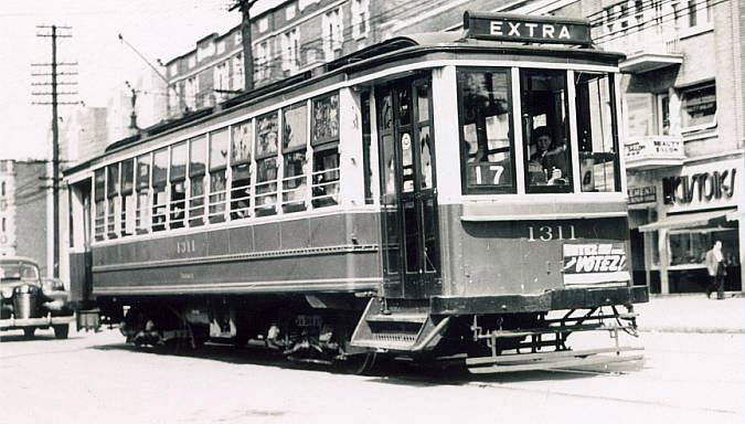 Montreal's old tramways
