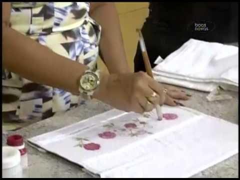 Como Fazer Decoupage em Tecido – Aprenda Já | Revista Artesanato