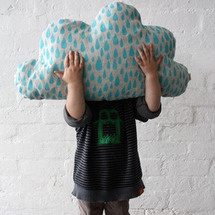You will love this cloud shaped cushion - it will bring a smile to your face even on rainy days!