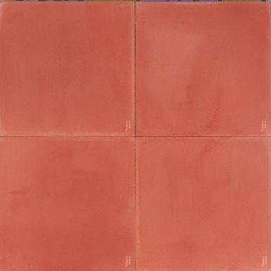 Burnt Orange Reproduction Tile