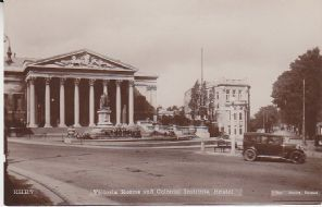 Bee Series Postcard - Victoria Rooms and Colonial Institute, Bristol - RHB7