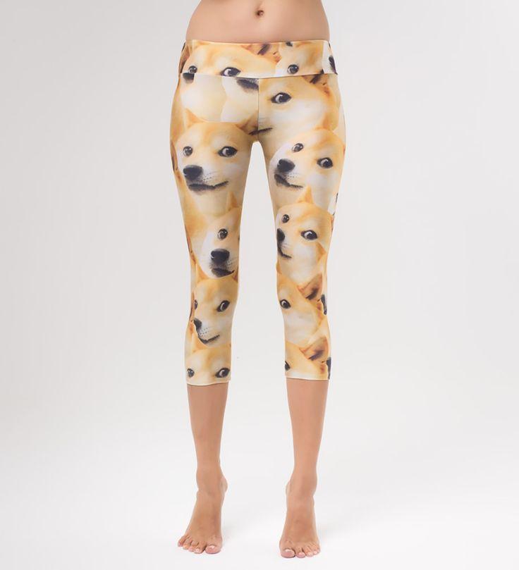 Doge yoga pants, Mr. GUGU & Miss GO