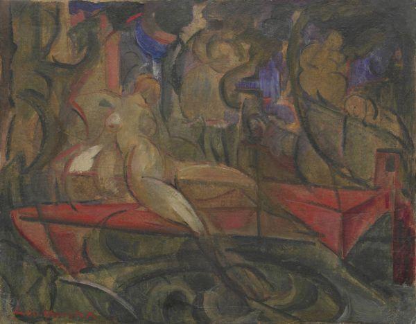 Łódka - Leon Chwistek