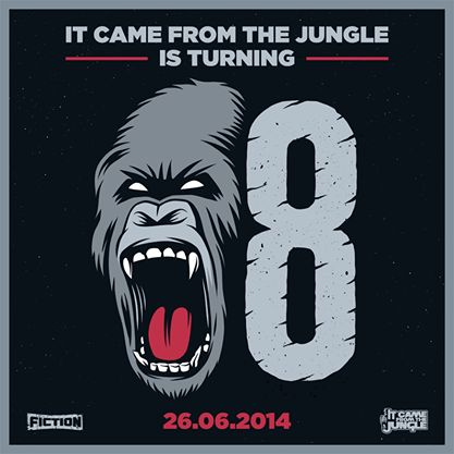 The 8th birthday of It Came From The Jungle, the Drum n Bass party of the month at Fiction! Visuals, crazy decor and awesome line-up including Niskerone! #capetown #event
