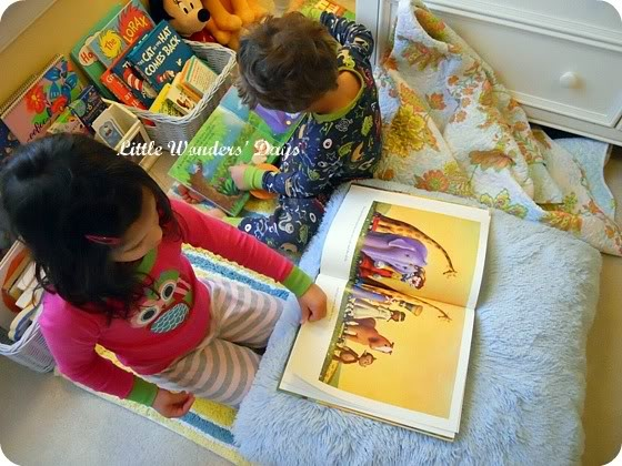 10 Ways to Make a Great Kids Reading Space