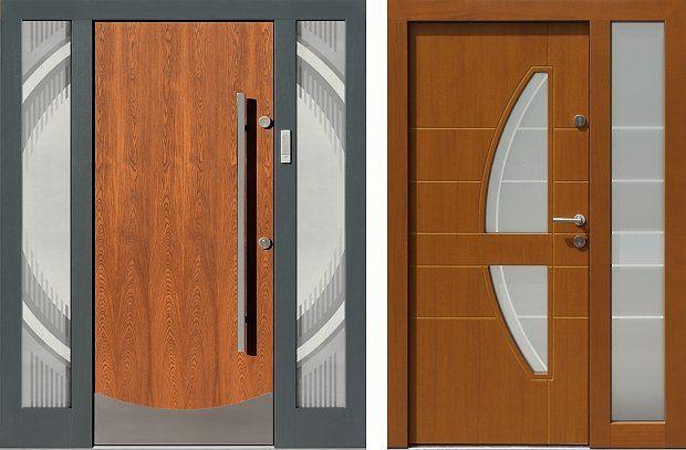 Naswietla górne i dostawki boczne nieotwierane  drzwi zewnętrznych