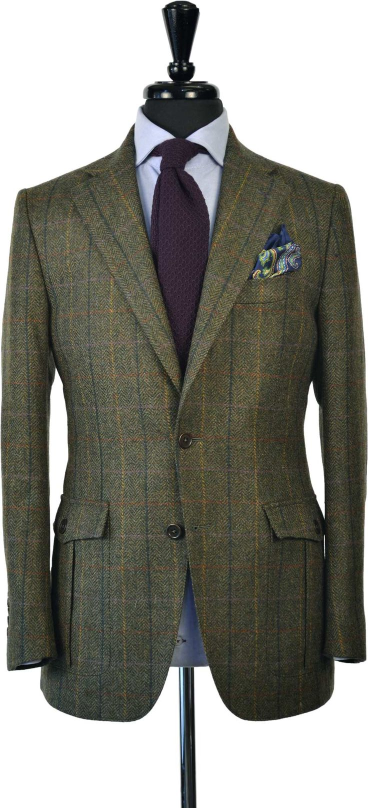 Tweed Hunting Jacket- British inspired, by Beckett & Robb ...