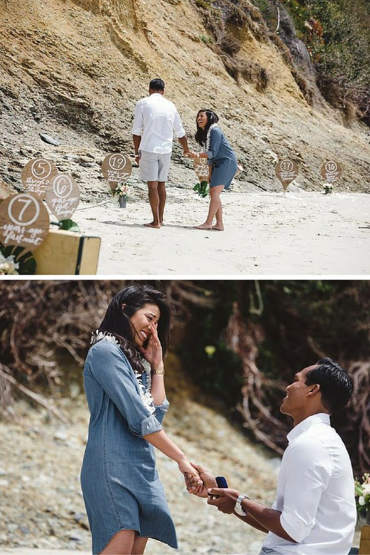 This sentimental beach proposal is guaranteed to have you in tears. The video is too perfect!