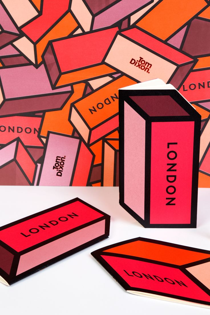 London Brick Ephemera Notebooks are complementary with selected items.