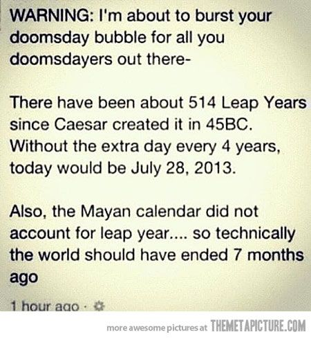 Lol: Thoughts, Laughing, Doomsday Preppers, Leap Years, Quotes, Funny, Truths, The World, Calendar