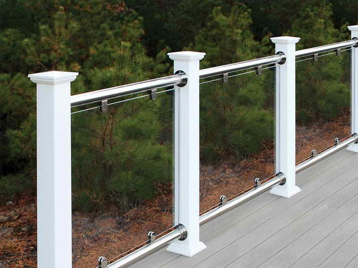How to u0026 Repairs:Glass Railing Systems For Decks Glass Railing Systems For  Decks With